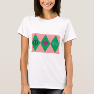 Tennis Argyle T-Shirt