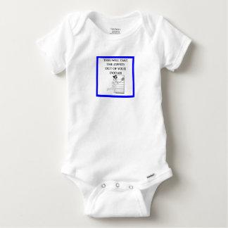tennis baby onesie