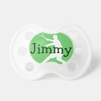 Tennis baby pacifier soother binkie dummy