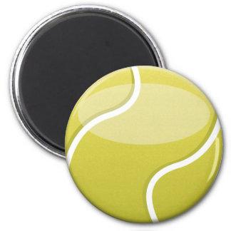 Tennis Ball 2 Inch Round Magnet