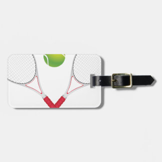Tennis Ball and Racket2 Luggage Tag
