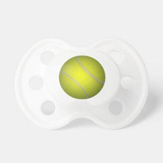 Tennis ball baby pacifier