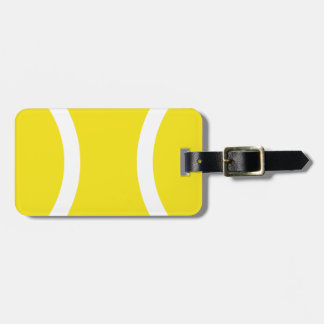 Tennis ball bag tag