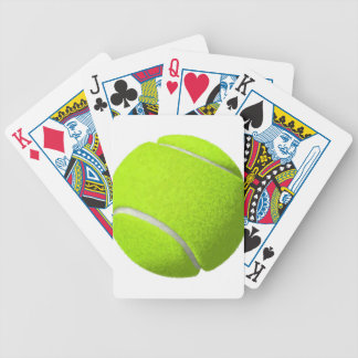 Tennis Ball Bicycle Playing Cards