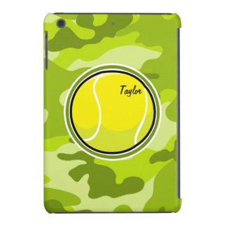 Tennis Ball bright green camo camouflage iPad Mini Cover