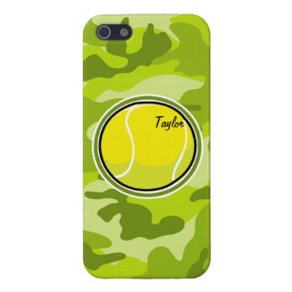 Tennis Ball bright green camo camouflage iPhone 5 Covers