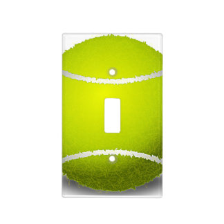 Tennis Ball Design Light Switch Cover