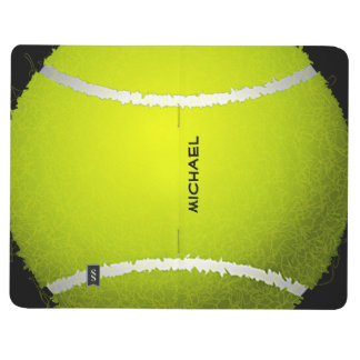 Tennis Ball Design Pocket Journal