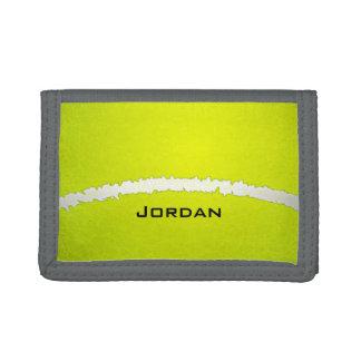 Tennis Ball  Design Wallet