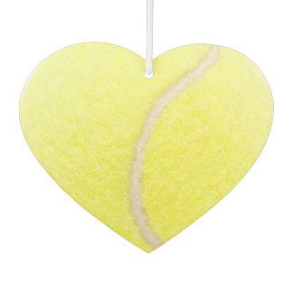 Tennis Ball Heart Air Freshener