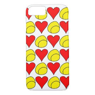 Tennis Ball + Heart iPhone Case