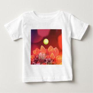 Tennis ball in Wild flower Baby T-Shirt