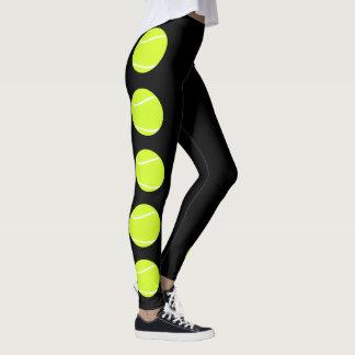Tennis Ball Leggings Compression Pants