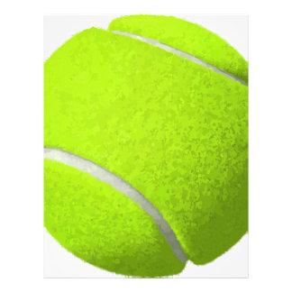 Tennis Ball Letterhead