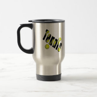 Tennis Ball Logo Commuter Travel Mug