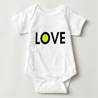 Tennis Ball LOVE Baby Bodysuit