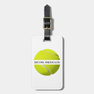 Tennis Ball Luggage Tag