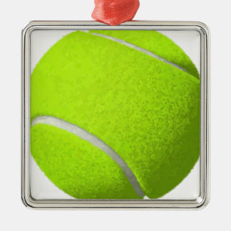 Tennis Ball Metal Ornament