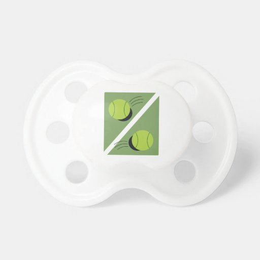 Tennis Ball Baby Pacifiers