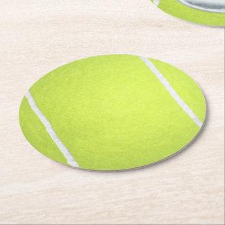 Tennis Ball Paper Coasters