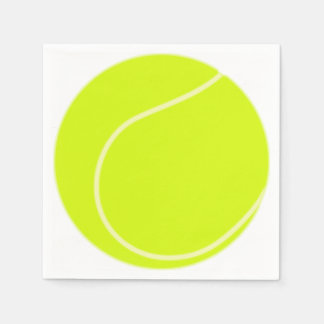 Tennis Ball Paper Napkins