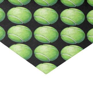 Tennis Ball Patterns Tissue Paper