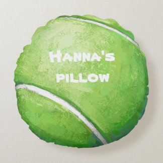 Tennis Ball Personalized Pet Bed Pillow