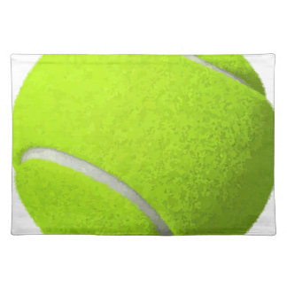Tennis Ball Placemat