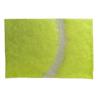 Tennis Ball Print Pattern Background Pillowcase
