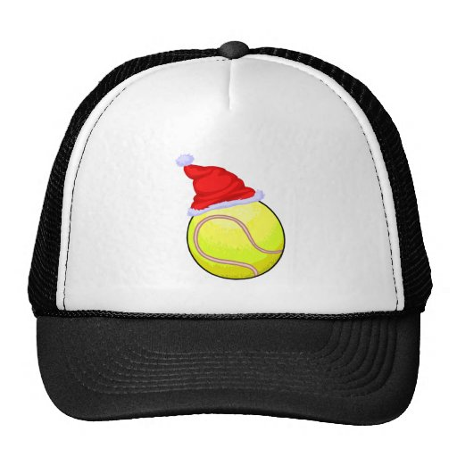 Tennis Ball (Santa Hat)
