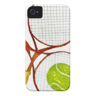 Tennis Ball Sketch2 iPhone 4 Case-Mate Cases