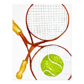 Tennis Ball Sketch2 Letterhead
