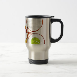 Tennis Ball Sketch2 Travel Mug