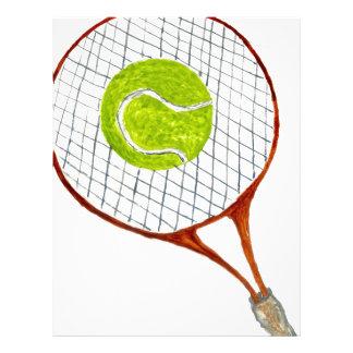 Tennis Ball Sketch3 Letterhead