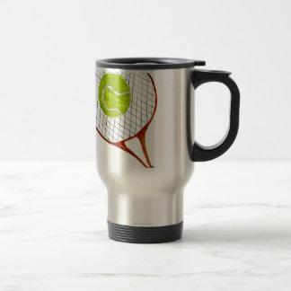 Tennis Ball Sketch3 Travel Mug