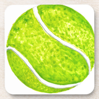Tennis Ball Sketch4 Coaster