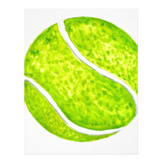 Tennis Ball Sketch4 Letterhead