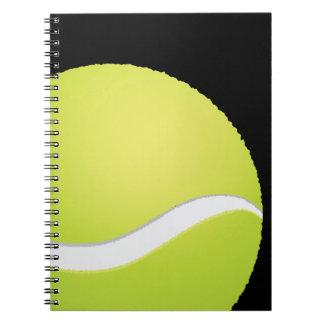 Tennis Ball Spiral Notebook
