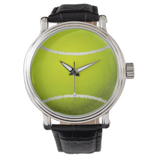 tennis ball sports design watch