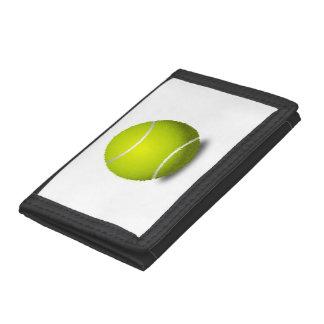 Tennis Ball Tri-fold Wallet