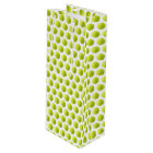 Tennis Ball Wine Bag