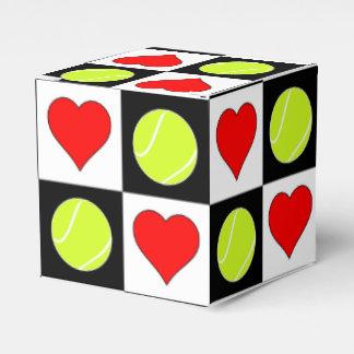 Tennis Balls & Hearts Tennis Player's Gift Box