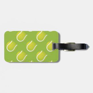 Tennis Balls Luggage Tag