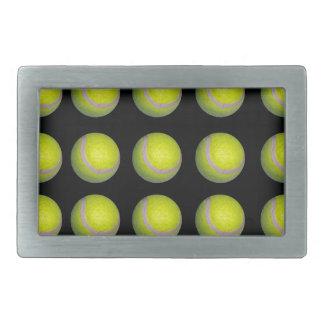 Tennis_Balls_Pattern,_ Belt Buckle