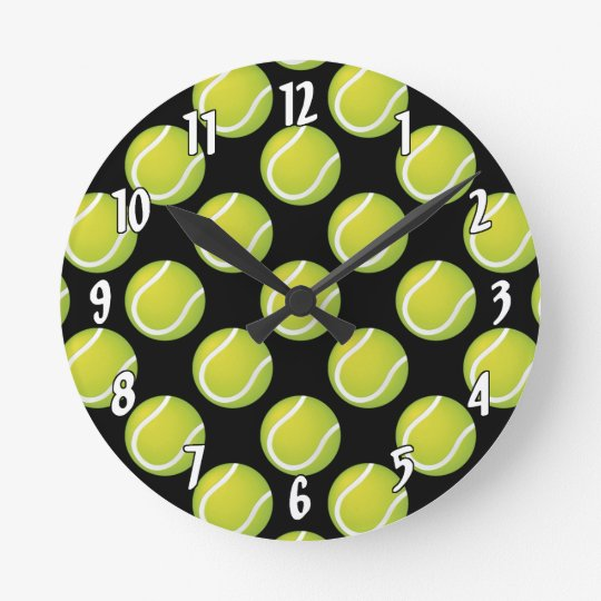 Tennis Balls Wallclock