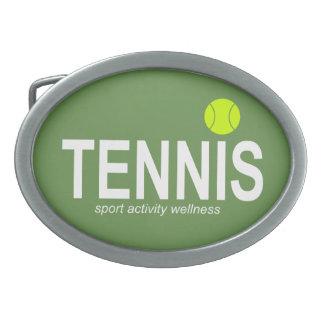Tennis Belt Buckle