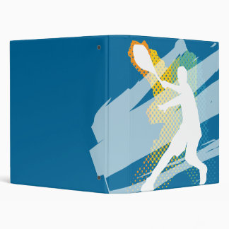 Tennis Binder / Folder with tennis player on cover