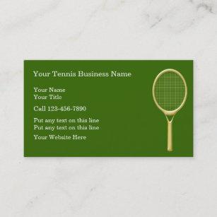 Tennis class business cards profile cards zazzle ca tennis business cards colourmoves