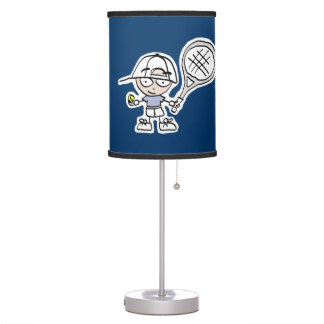 Tennis cartoon table lamp | Kids room decor