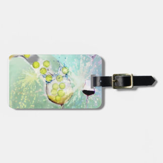 Tennis Celebration Luggage Tag
